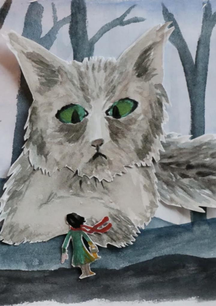 De Yule Kat: een kort winters sprookje